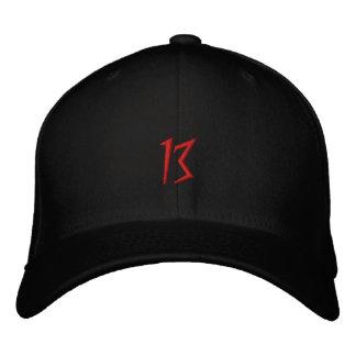 #13 DarkArt Embroidered Flexfit Hat Baseball Cap