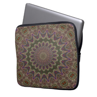"13"" • Fractal Kaleidoscope Laptop Sleeve"