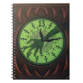 13 Hour Clock Notebook