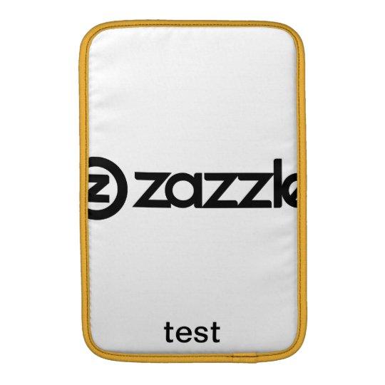13 inch test MacBook sleeve