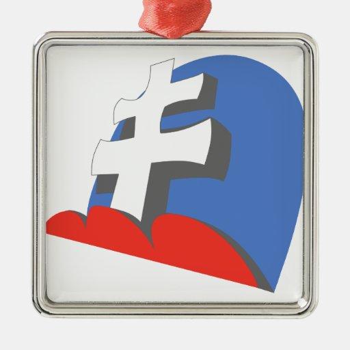 13 JG52 Slovakian Christmas Ornaments