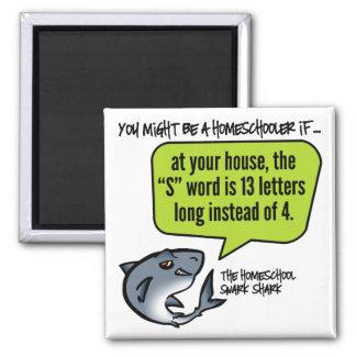 13 Letter Word Square Magnet