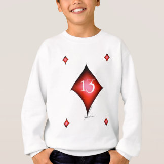 13 of diamonds sweatshirt