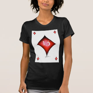 13 of diamonds T-Shirt