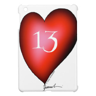 13 of Hearts Cover For The iPad Mini