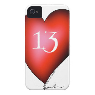13 of Hearts iPhone 4 Case