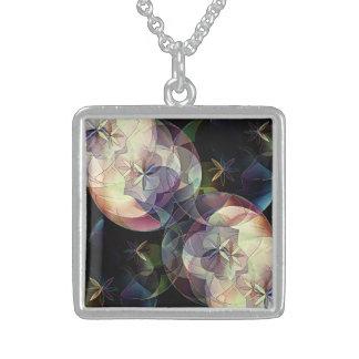 13 of June Square Pendant Necklace