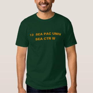 13  SEA PAC UNIV -- SEA CTR W SHIRTS