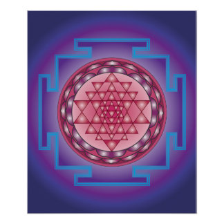 13 SRI YANTRA - SANCTUARY POSTER