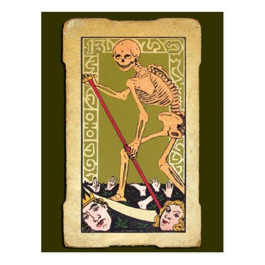13 Tarot Card Postcard