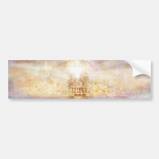 13Heaven-11x3.2-BumperSticker Bumper Sticker