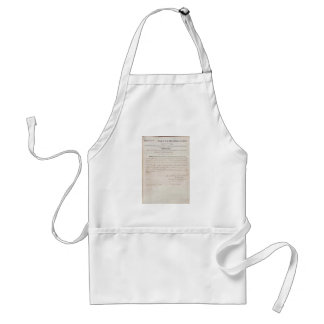 13th Amendment of the United States Constitution Adult Apron