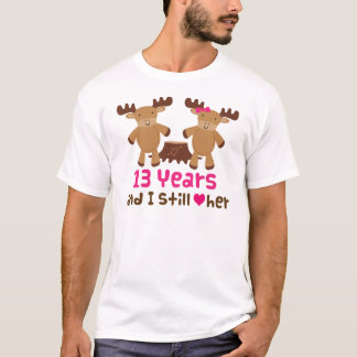 13th Anniversary Gift For Him T-Shirt