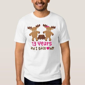13th Anniversary Gift For Him Tee Shirt