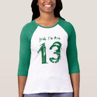 13th Birthday Gift Custom Name for Her T-Shirt