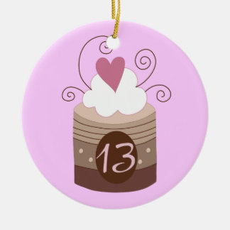13th Birthday Gift Ideas For Her Christmas Ornament