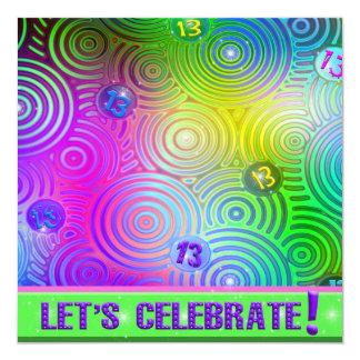 13th Birthday Invite