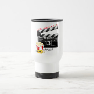 13th Birthday Movie Party Coffee Mugs