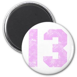 13th Birthday Presents Refrigerator Magnets