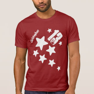 13th Birthday Stars and Hearts Teen V16 RED Tee Shirts