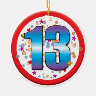 13th Birthday v2 Christmas Ornament