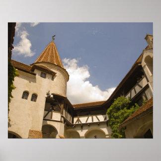 13th Century Bran Castle Draculas Castle Posters
