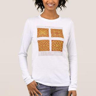 13th century tile designs, illustration from 'Spec Long Sleeve T-Shirt