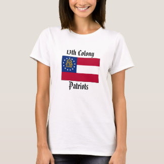 13th Colony Patriots - Ladies Fitted T-Shirt