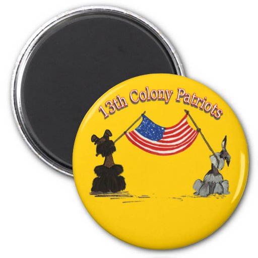 13th Colony Patriots Magnets