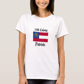 13th Colony Patriots - Womens fitted T-Shirt