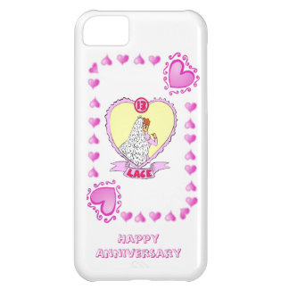 13th wedding anniversary lace iPhone 5C case