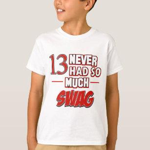 13th Year Old Birthday Designs T Shirt