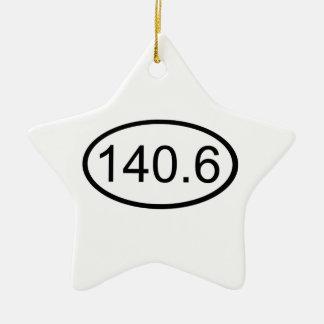 140.6 CERAMIC STAR DECORATION