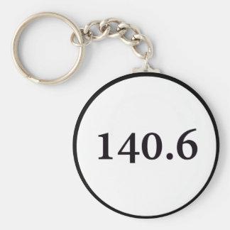 140 6 circle keychain