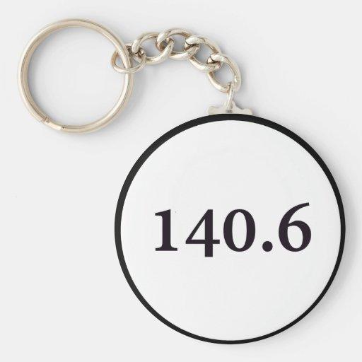 140.6 circle keychain
