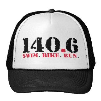 140.6 Swim Bike Run Cap