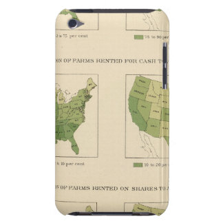 140 Proportion farms owned, rented iPod Touch Case
