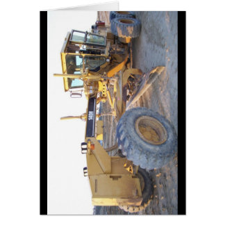 140H Motor Grader - Blade Greeting Card