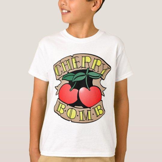 1413032011 Cherry Bomb Inverso (Rocker & Kustom) T-Shirt