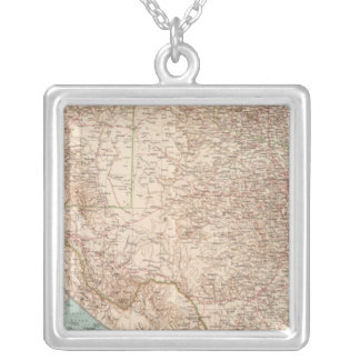 14344 NM, Okla, Tex Silver Plated Necklace