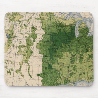 147 Neat cattle/sq mile Mouse Mat