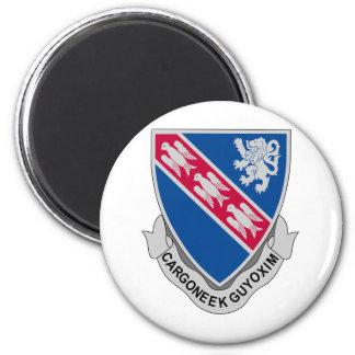 147 Regiment 6 Cm Round Magnet