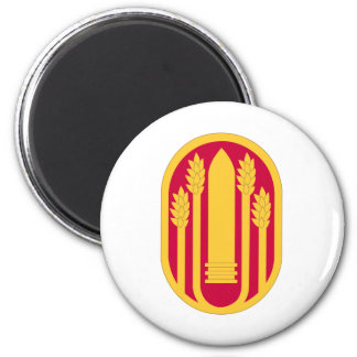 147th Field Artillery 6 Cm Round Magnet
