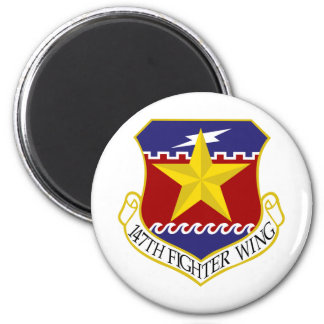 147th Fighter Wing 6 Cm Round Magnet