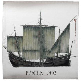 1492 Pinta tony fernandes Napkin