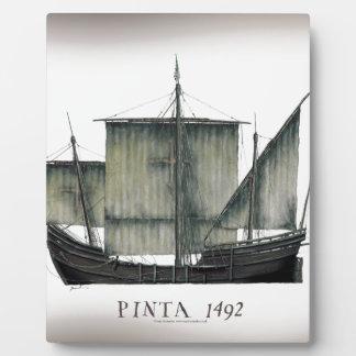 1492 Pinta tony fernandes Plaque