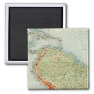 14950 South America Physical Magnet