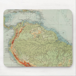 14950 South America Physical Mouse Pad