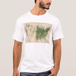 149 Horses, mules, asses/sq mile T-Shirt