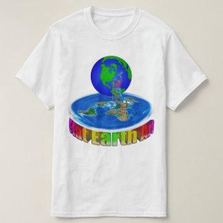 $14.95 Global Painter original Flat Earth Art T-Shirt